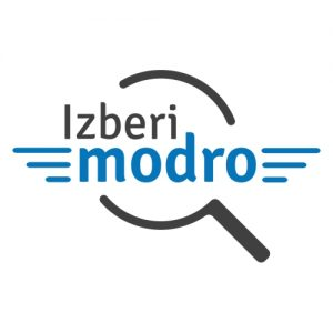 www.rise.si - platforma - Izberi Modro